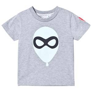 Scamp & Dude Unisex Tops Grey Super Marl T-Shirt – Balloon Man