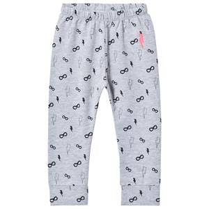 Scamp & Dude Unisex Bottoms Grey Chill Out Leggings – Grey Mask and Bolt