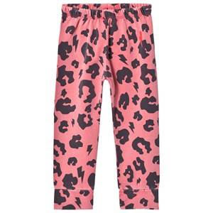 Scamp & Dude Unisex Bottoms Red Chill Out Leggings – Coral Leopard