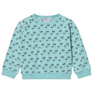 Scamp & Dude Unisex Jumpers and knitwear Green Cool Kid Sweatshirt – Balloon Man Pale Green