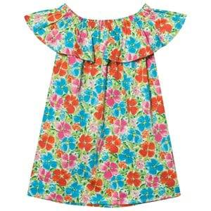 Lands End Girls Dresses Multi Multi Flowers Ruffle Dress