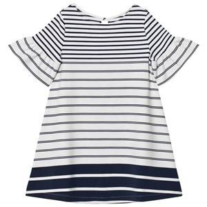 Lands End Girls Dresses White White Bell Sleeve Ponte Dress