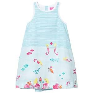 Tom Joule Girls Dresses Blue Turquoise Under The Sea Print Dress