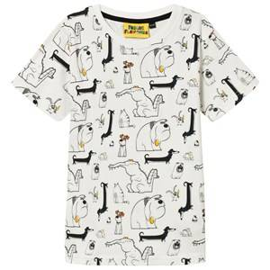 Fabric Flavours Boys Tops White Pets Tee