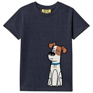 Fabric Flavours Boys Tops Navy Max Pets Tee