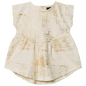 Petit by Sofie Schnoor Girls Dresses Cream Dress Off-White Gold