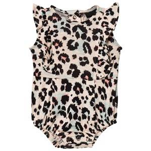 Petit by Sofie Schnoor Girls All in ones Multi Baby Body Frill Multileo
