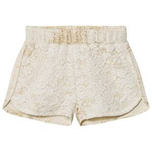 Petit by Sofie Schnoor Girls Shorts Cream Shorts Off-White Gold