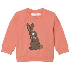 Mini Rodini Girls Tops Pink Rabbit Long Sleeve Tee Pink