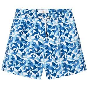 IA BON Boys Childrens Clothes Swimwear and coverups Blue Swimshorts Turquoise