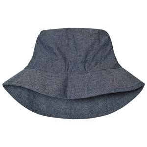 Melton Unisex Childrens Clothes Headwear Blue Bucket Hat Summer Melange Tahiti