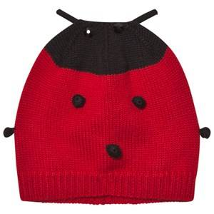 Dolce & Gabbana Girls Headwear Red Red Ladybird Cashmere and Wool Hat