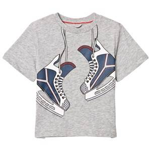 Stella McCartney Kids Boys Tops Grey Arrow Skate On T-Shirt