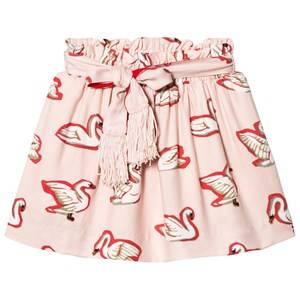 Stella McCartney Kids Girls Skirts Pink Pink Myrtle Swans Skirt