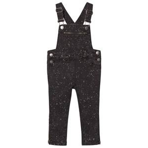 Stella McCartney Kids Girls All in ones Black Black Lake Overall Splat Dungarees