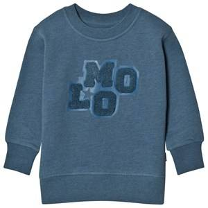 Molo Boys Jumpers and knitwear Blue Mortimer Stellar Blue