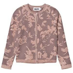 Molo Girls Jumpers and knitwear Pink Gabriela Cardigan Cameo Rose