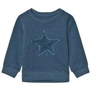 Molo Boys Jumpers and knitwear Blue Dines Stellar Blue