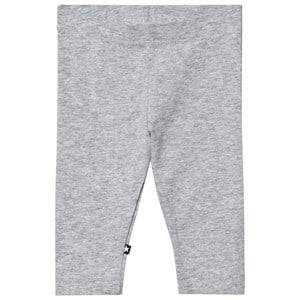 Molo Girls Bottoms Grey Nette Solid Leggings Grey Melange