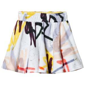 Molo Girls Skirts White Barbera Skirt Graffiti