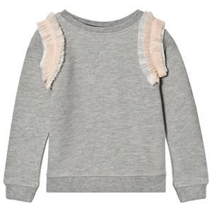 Molo Girls Jumpers and knitwear Pink Margie Sweatshirt Tulle Rainbow
