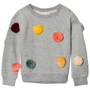 Molo Girls Jumpers and knitwear Grey Marcella Sweatshirt Grey Melange