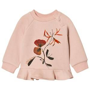 Molo Girls Jumpers and knitwear Pink Dora Sweatshirt Cameo Rose