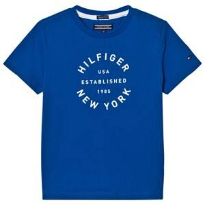 Tommy Hilfiger Boys Tops Blue Blue Branded Tee