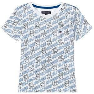 Tommy Hilfiger Boys Tops White White All Over Print Tee