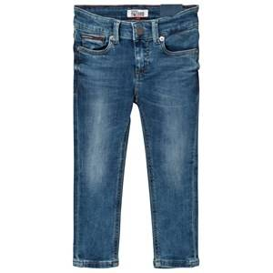 Tommy Hilfiger Boys Bottoms Blue Blue Mid Wash Scanton Skinny Jeans