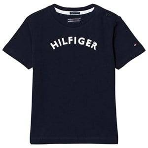 Tommy Hilfiger Boys Tops Navy Navy Branded Tee