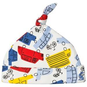 Tom Joule Boys Headwear White Multi Colour Car Print Hat