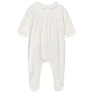 Carrément Beau Girls All in ones Cream Footed Baby Body Gold Spot Cream