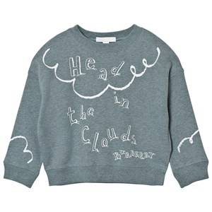 Burberry Unisex Jumpers and knitwear Blue Head in the Clouds Sweatshirt Powder Blue