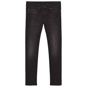 Diesel Boys Bottoms Grey Dark Grey 5 Pocket Sleenker Slim Skinny Jeans