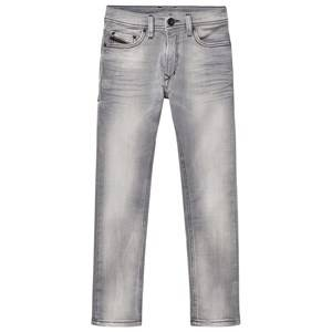 Diesel Boys Bottoms Grey Grey 5 Pocket Tepphar Jog Jeans