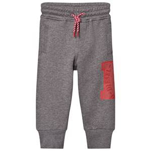 Diesel Boys Bottoms Grey Grey D Logo Print Pants