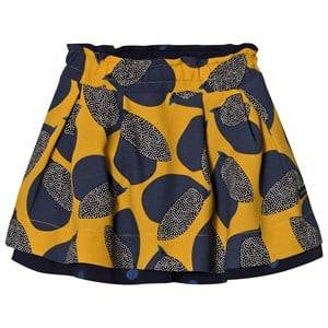 Catimini Girls Skirts Yellow Yellow Reversible Bird Skirt
