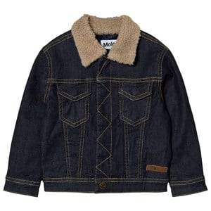 Molo Boys Coats and jackets Blue Hackman Denim Jacket Raw Indigo