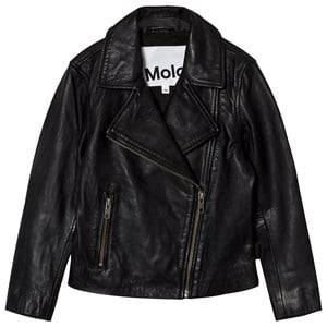 Molo Girls Coats and jackets Black Hazel Jacket Washed Black