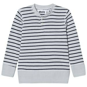 Molo Boys Tops Blue Reginald Narrow Stripe Sweater