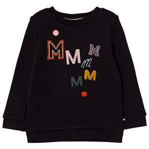 Molo Girls Jumpers and knitwear Black Mara Sweatshirt Black Bean