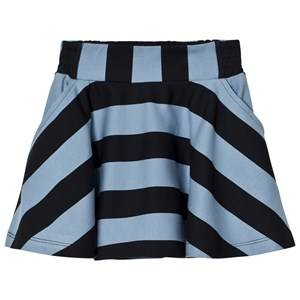 Molo Girls Skirts Blue Brenna Skirt Faded Denim Stripe