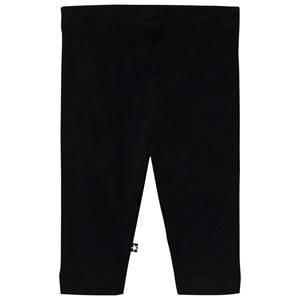 Molo Girls Bottoms Black Nette Solid Leggings Black