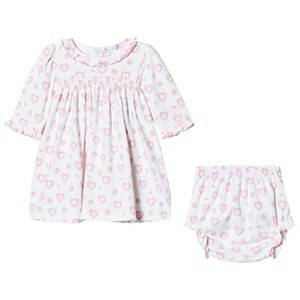 Kissy Kissy Girls Clothing sets Pink Pink Floral Heart Print Dress and Knickers Set