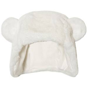 Absorba Unisex Headwear Cream Cream Faux Fur Eared Hat