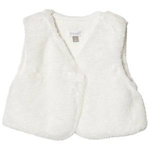 Absorba Girls Coats and jackets Cream Cream Faux Fur Gilet