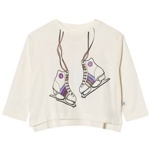 Stella McCartney Kids Girls Tops White White Skates Print Farah Tee