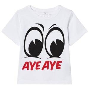 Stella McCartney Kids Boys Tops White White Aye Aye Arlo Tee