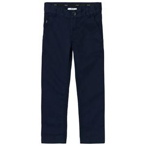 Boss Boys Bottoms Navy Navy Chino Trousers